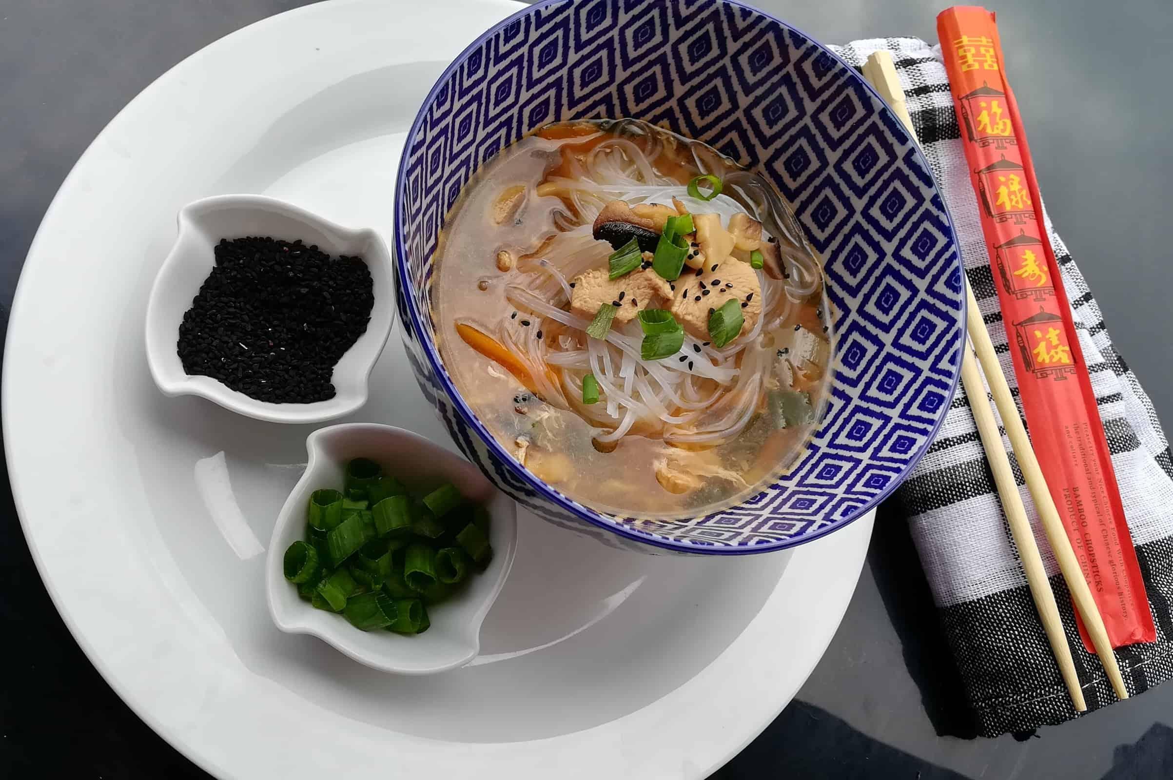 Moja rýchla čínska polievka