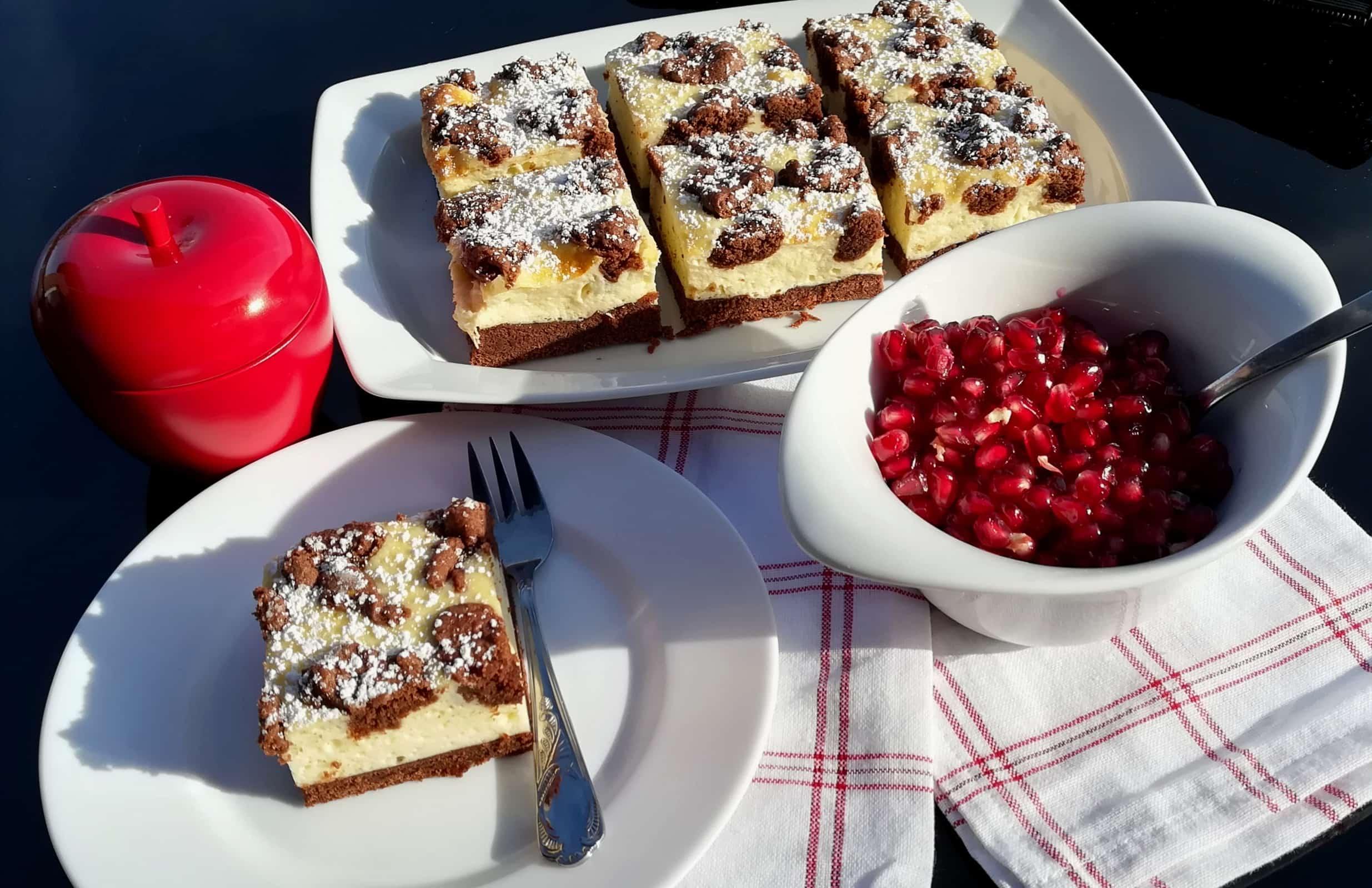 Trhancový cheesecake