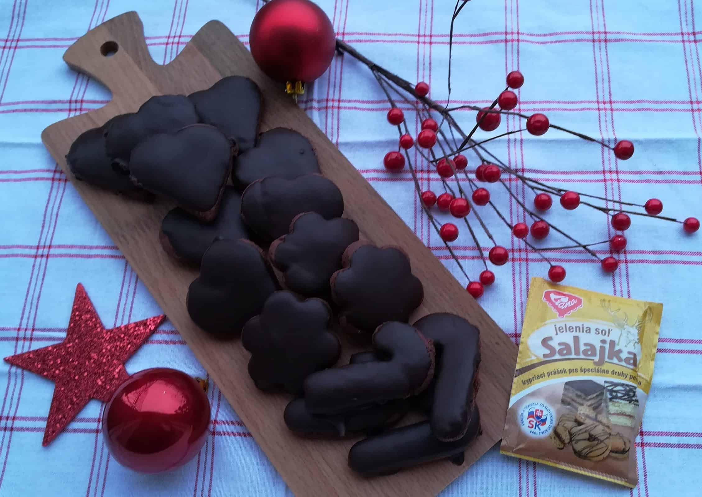 Čokoládové perníčky z jeleniej soli