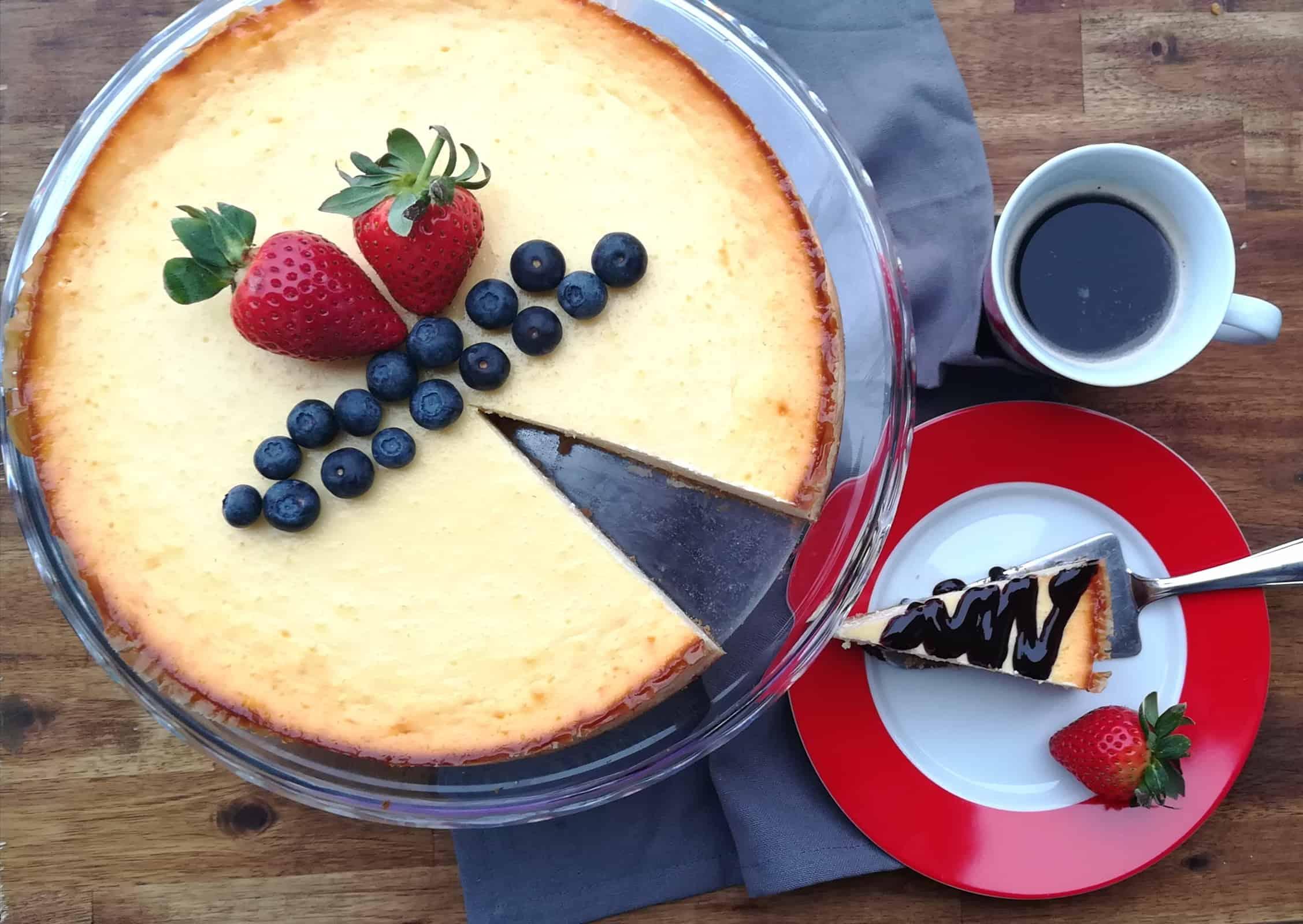 Výborný cheesecake zo salka