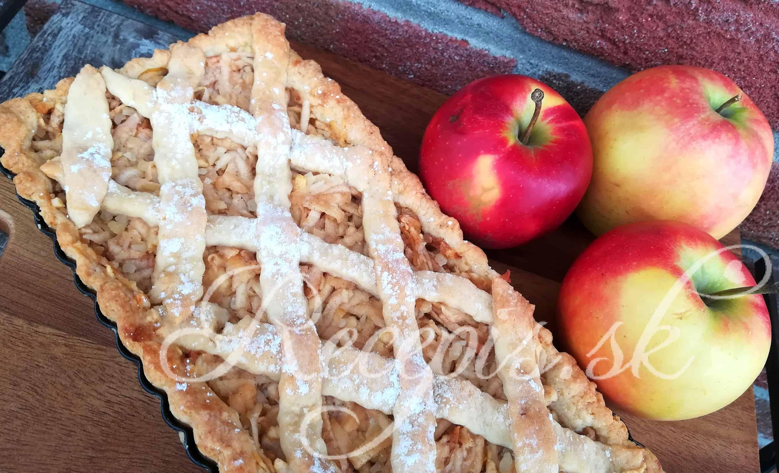 Jablkový mrežovník ako od mojej starej mamy