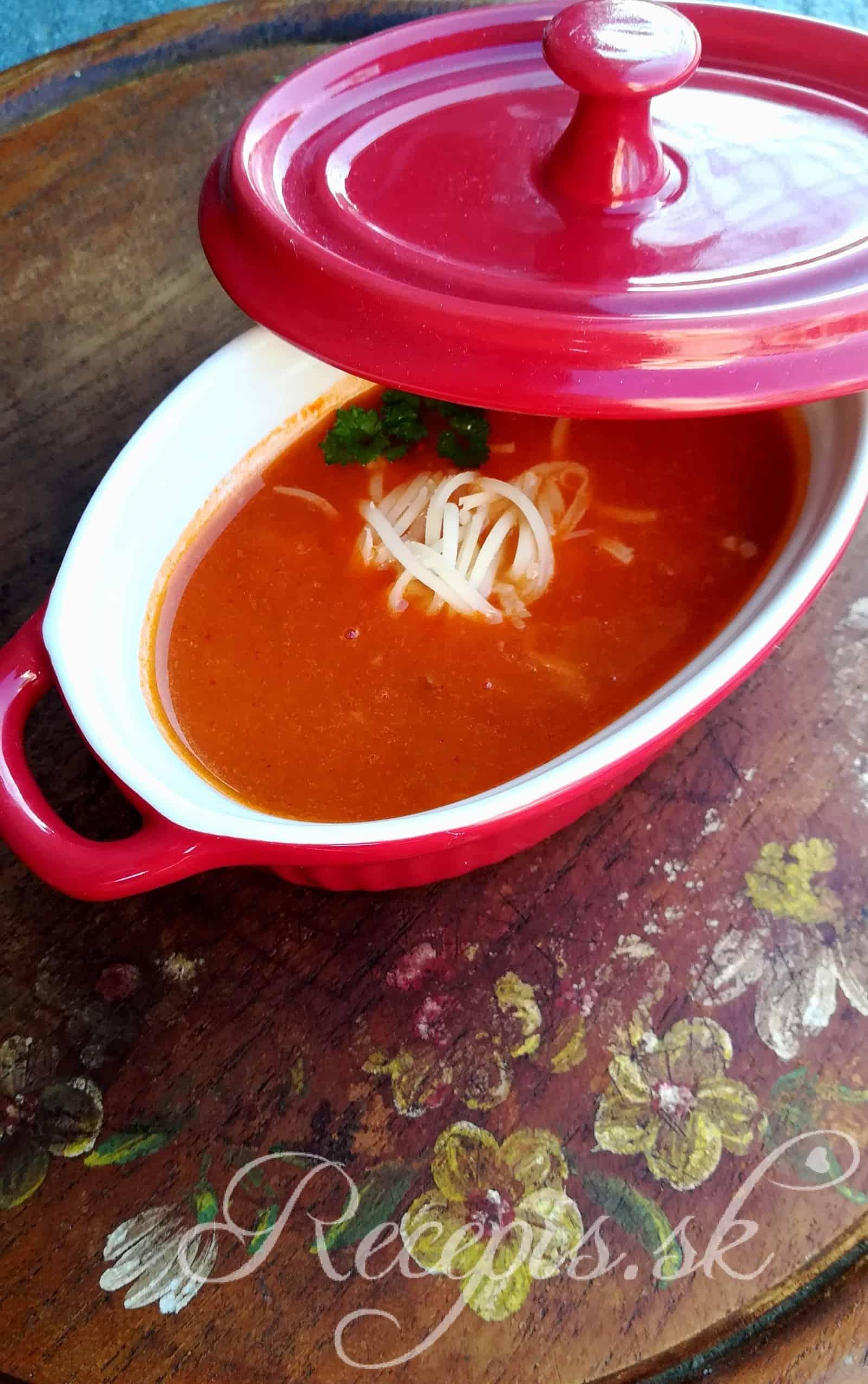 Expresná rajčinová polievka