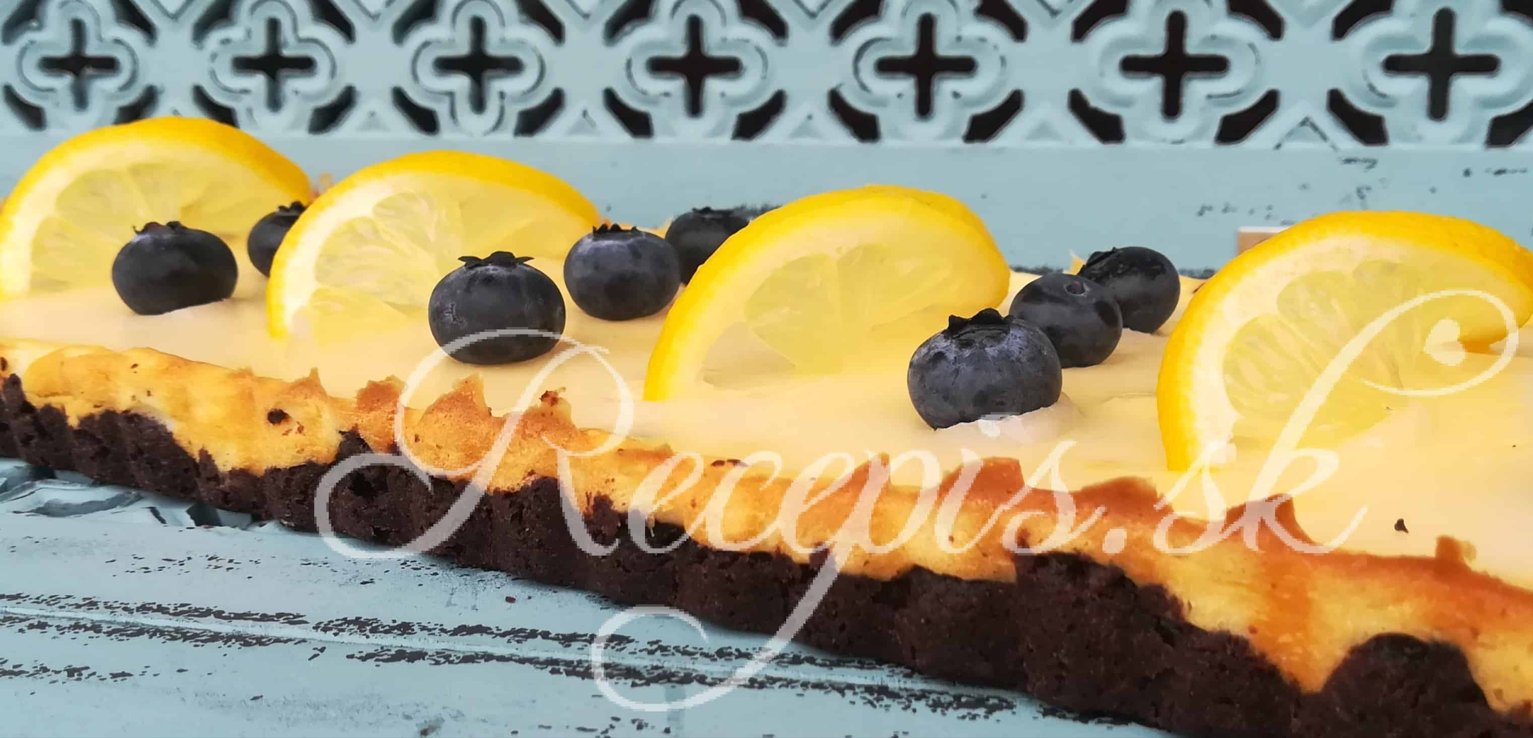"""Citrónový """"lemon"""" tarte"""