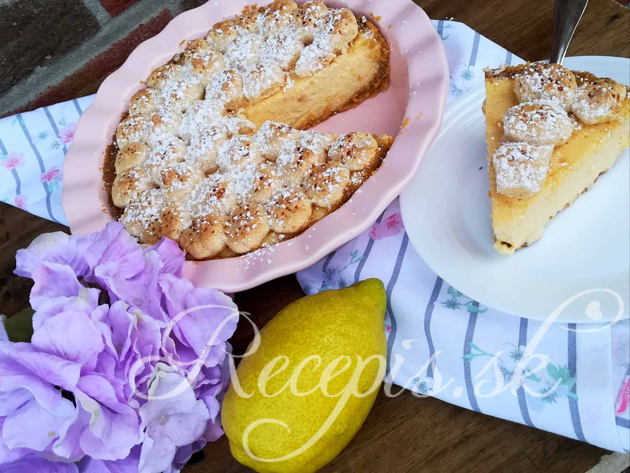Lemon pie zo salka