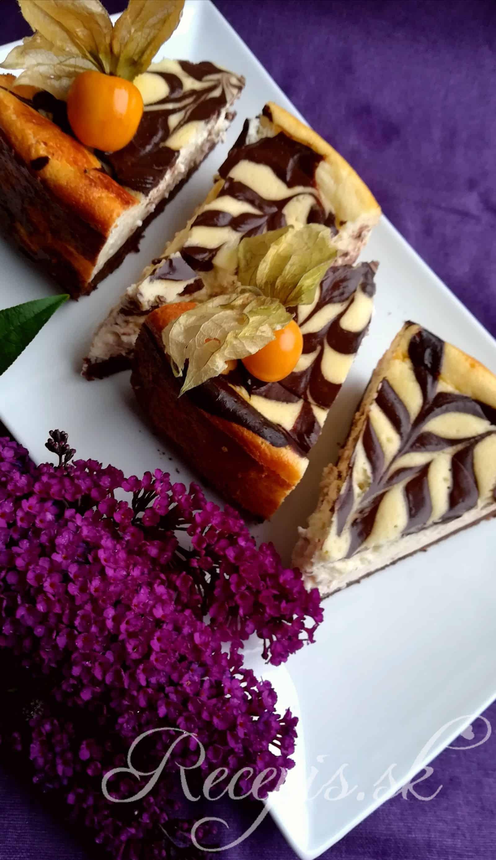 Nadýchaný Espresso Cheesecake