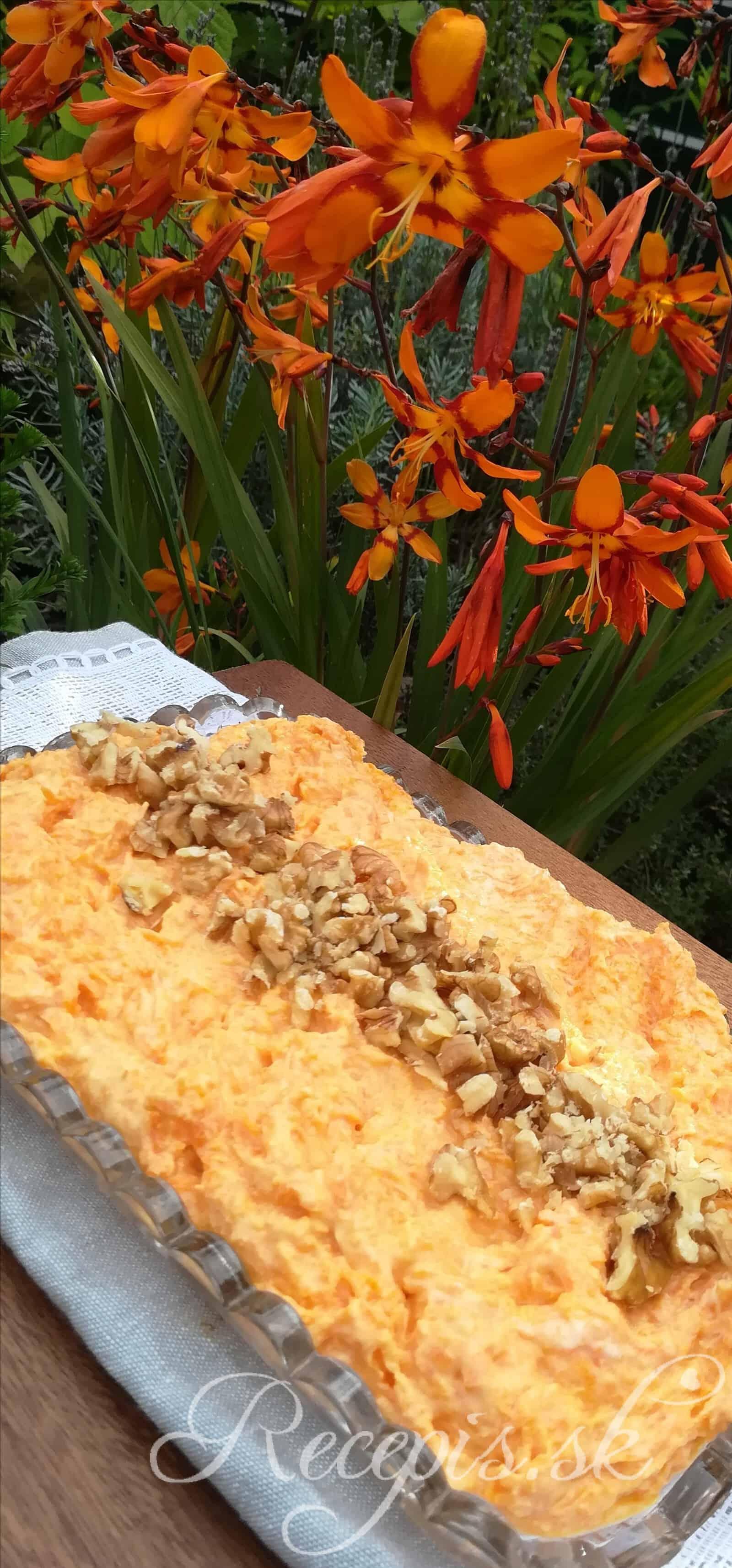 Ľahký mrkvový šalát bez majonézy