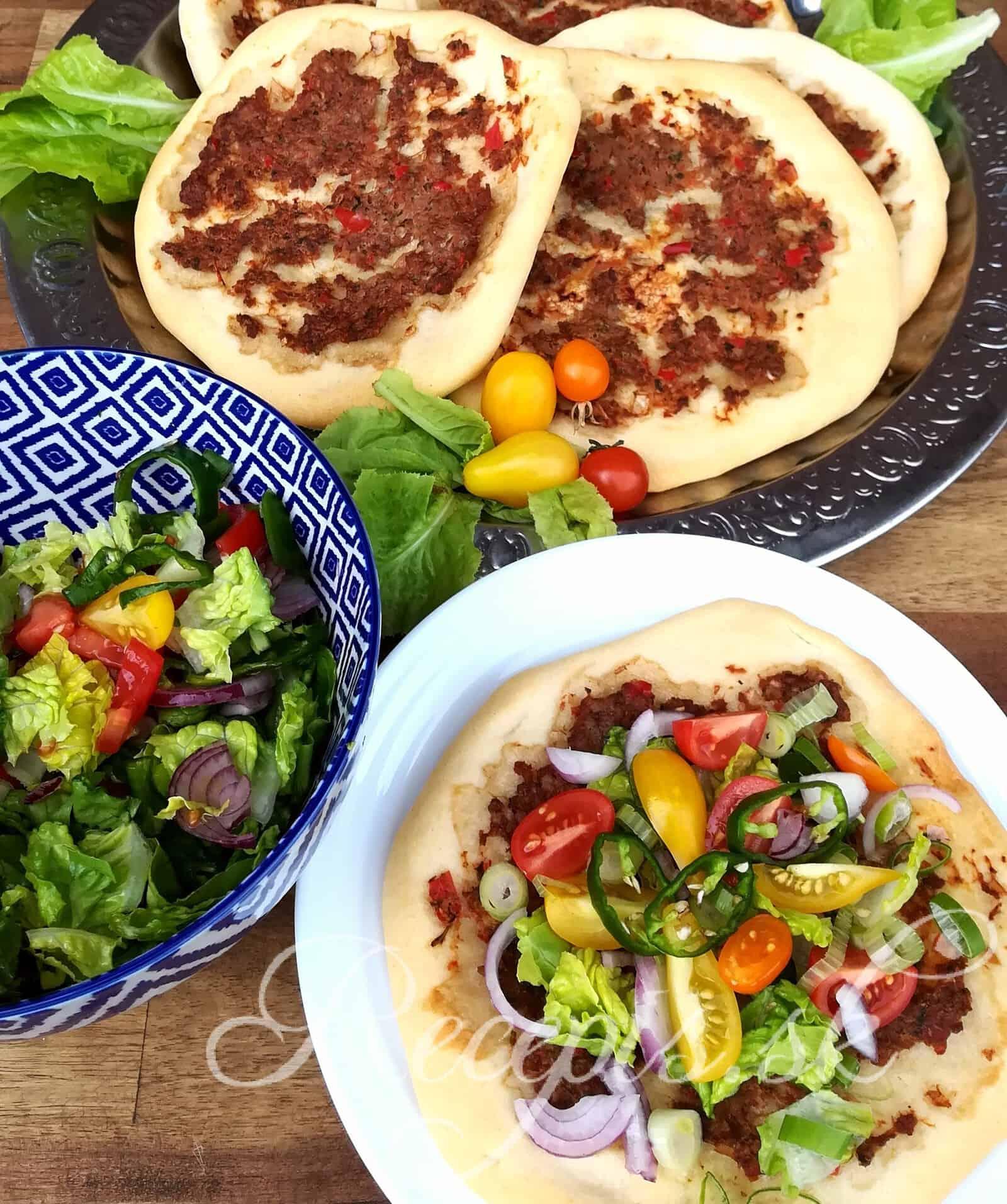 Turecká pizza Lahmacun