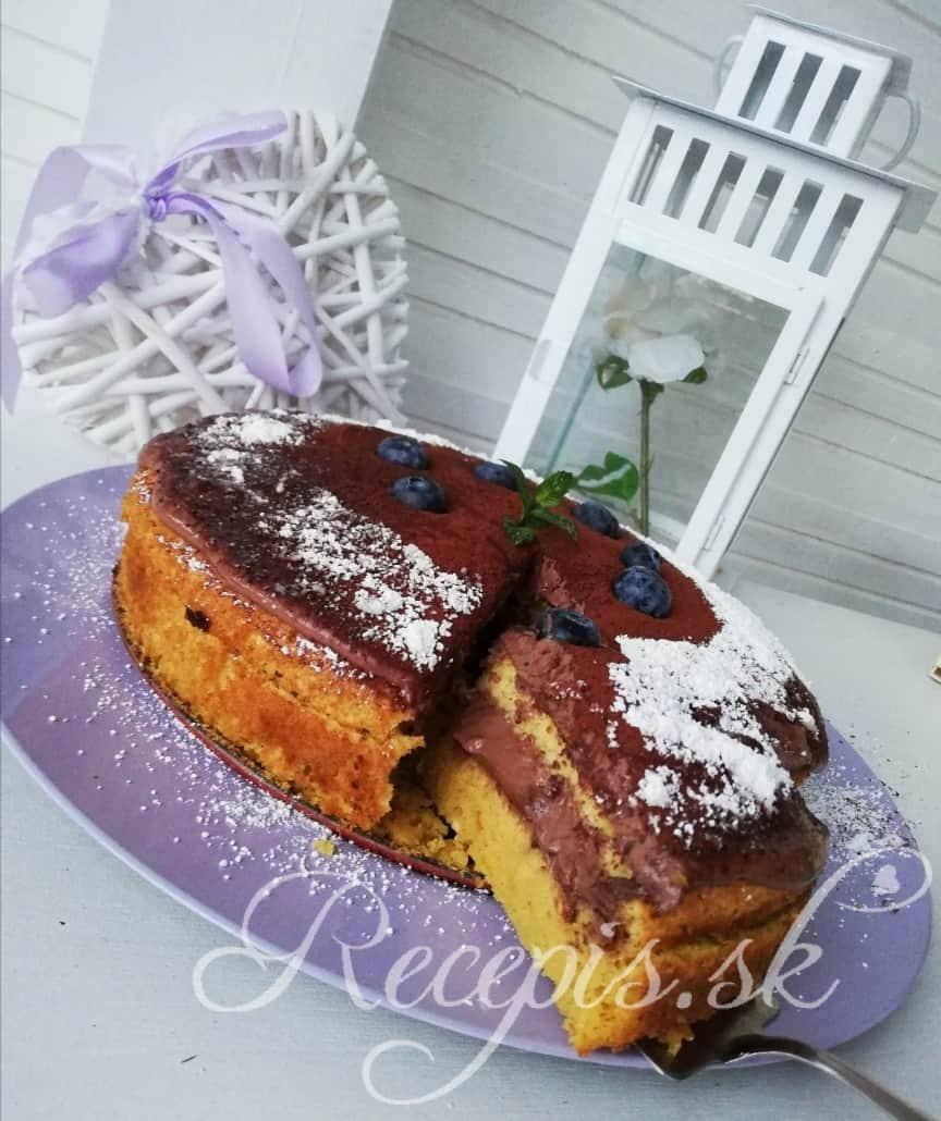 Falošná mandľová bezlepková torta