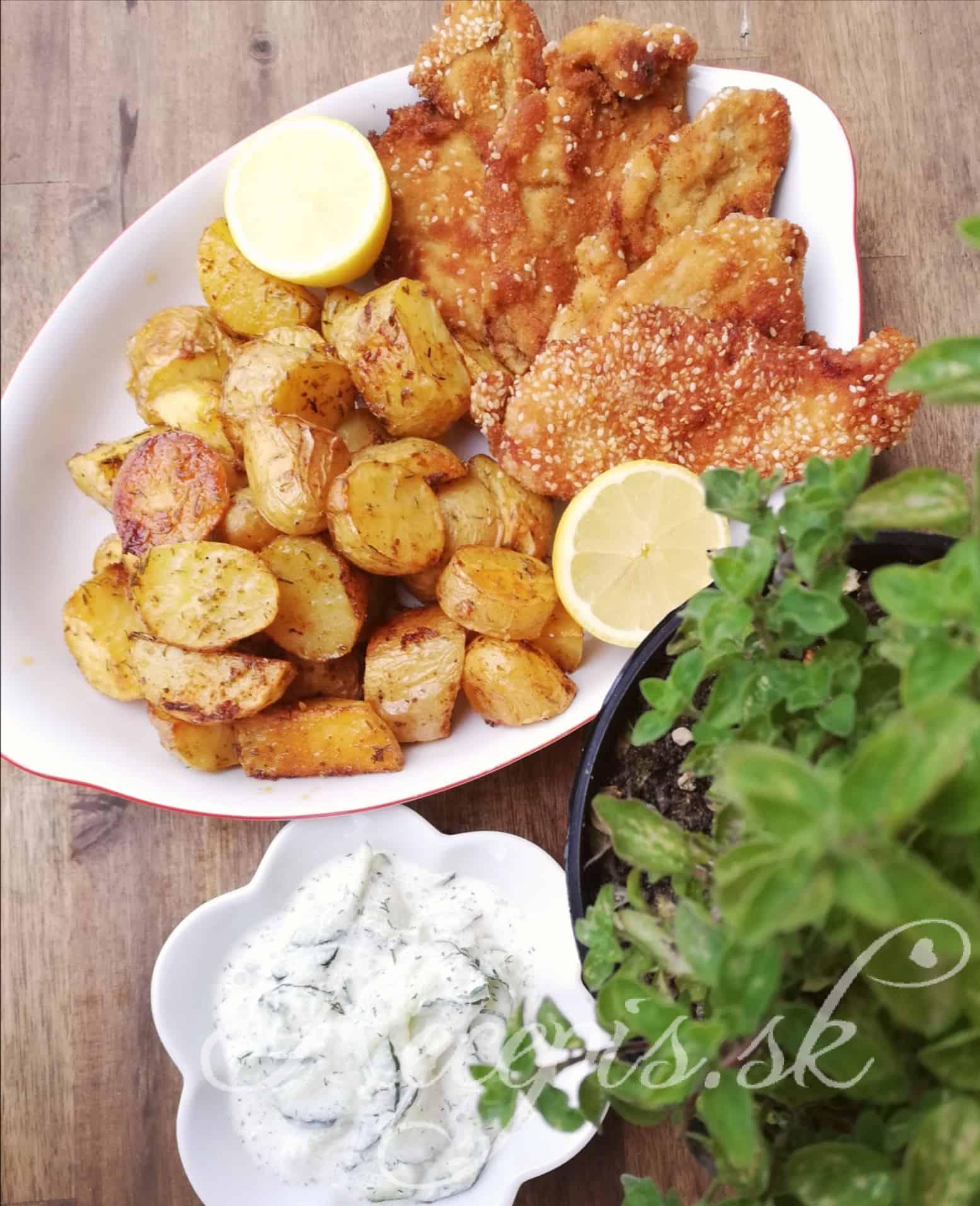 Chrumkavé pečené zemiaky