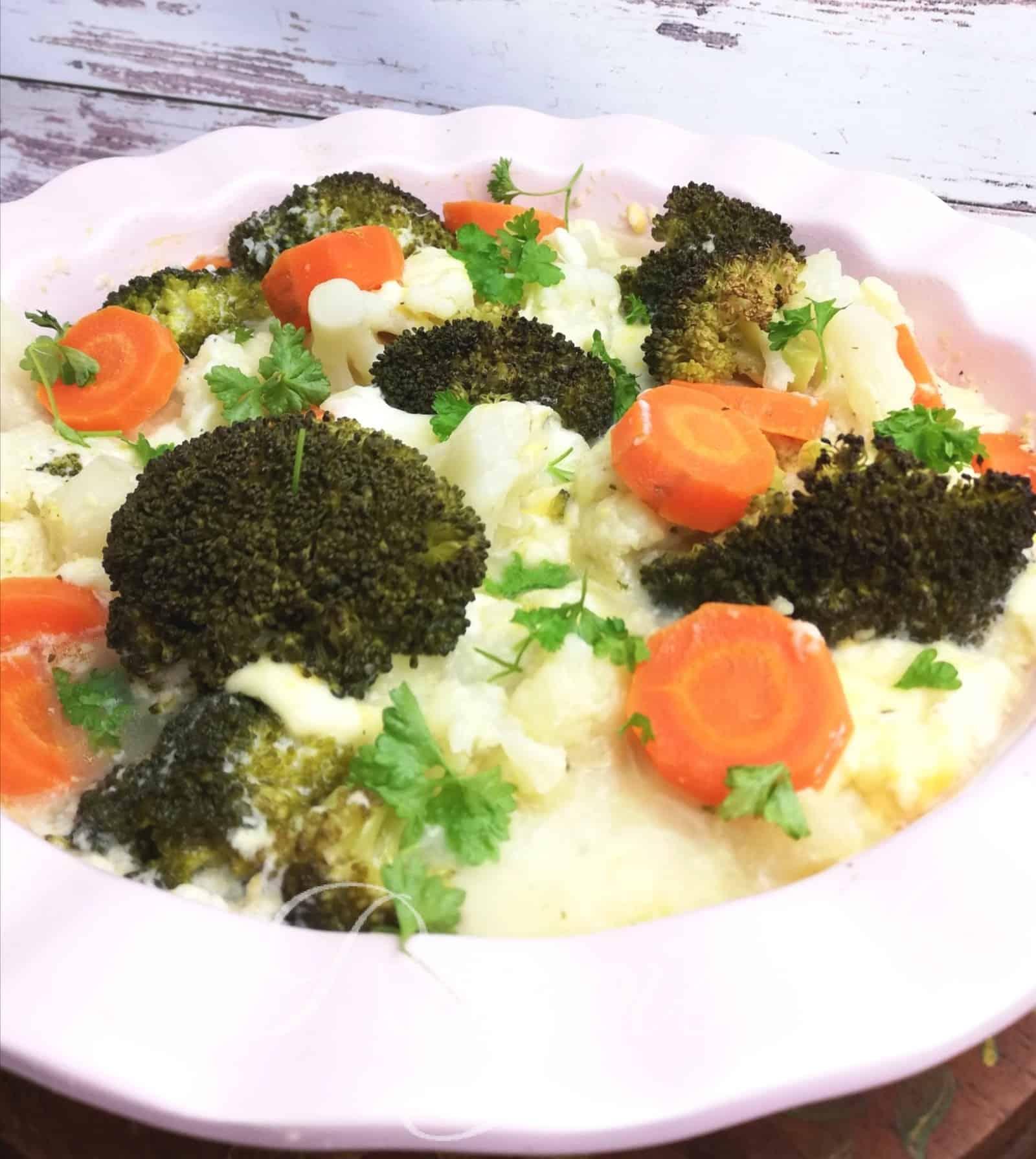 Rýchla zapečená zelenina