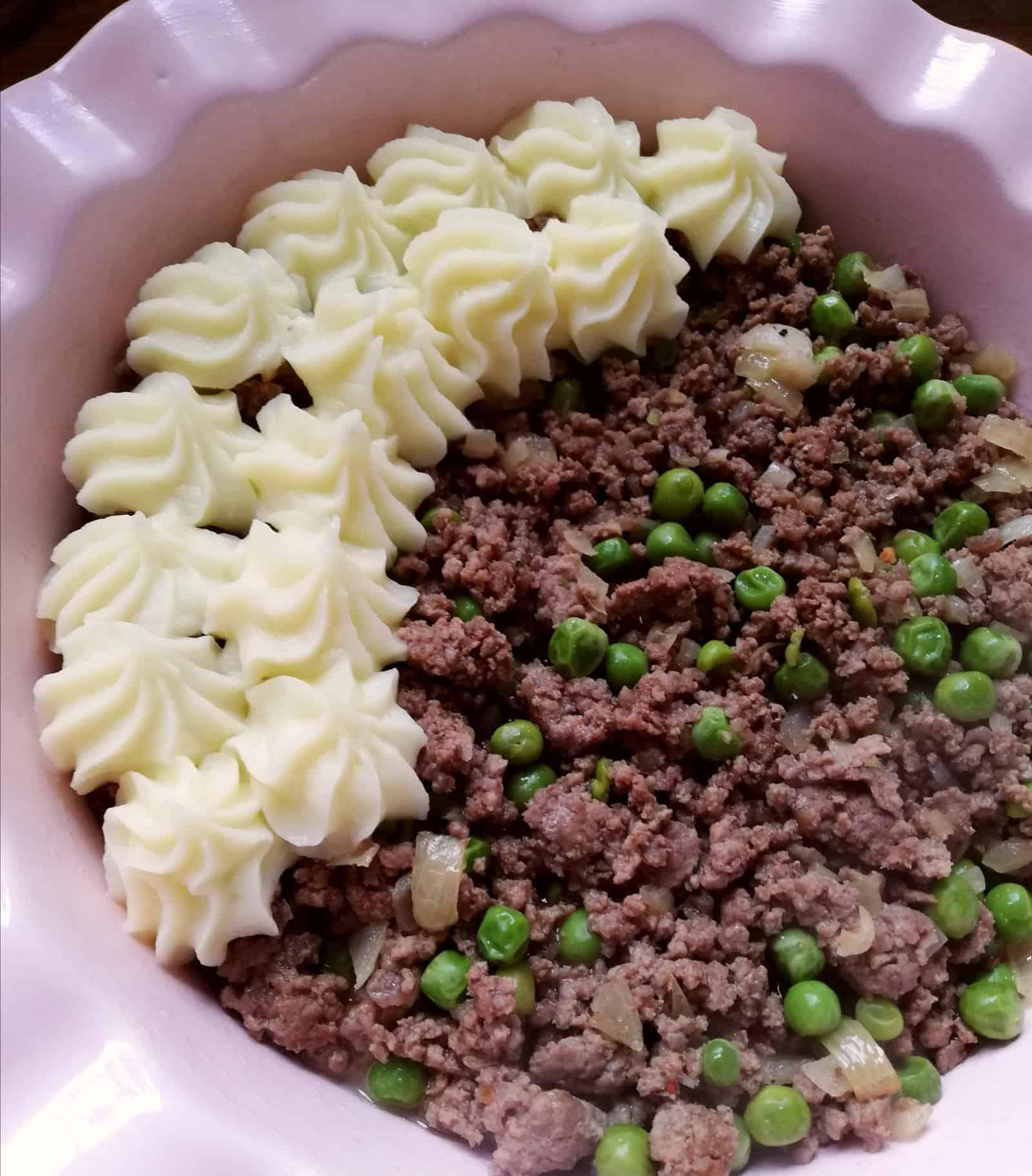 Shepherd's Pie s hovädzím mletým mäsom