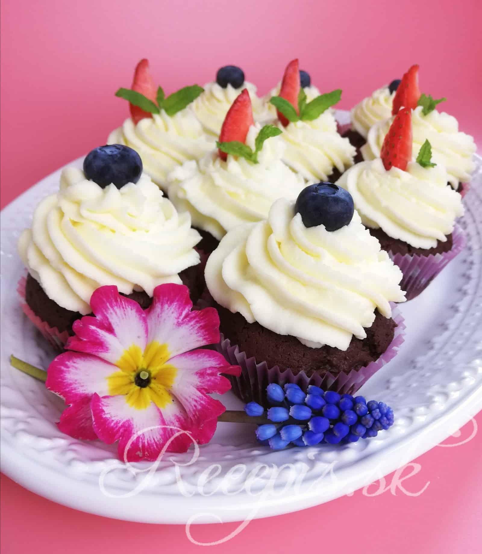 Základný maslový krém na muffiny/cupcakes