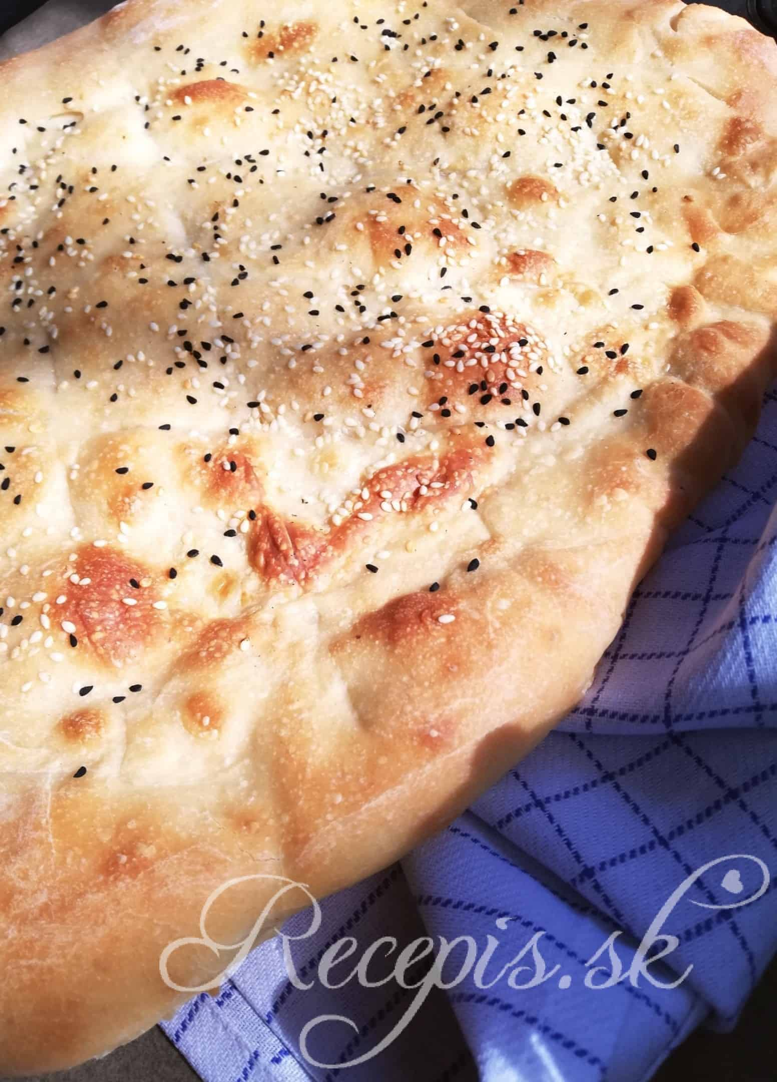 Turecký chlieb 'Pide'