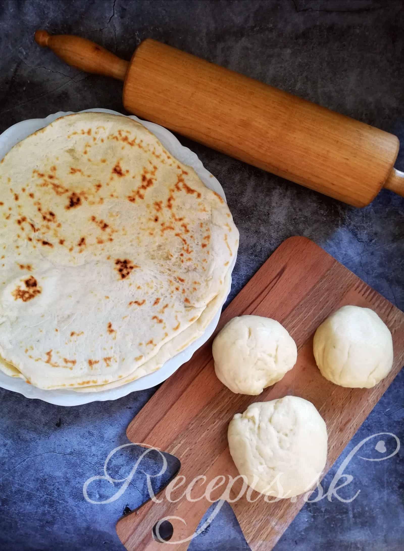 Arabský chlieb (pita/baslama)