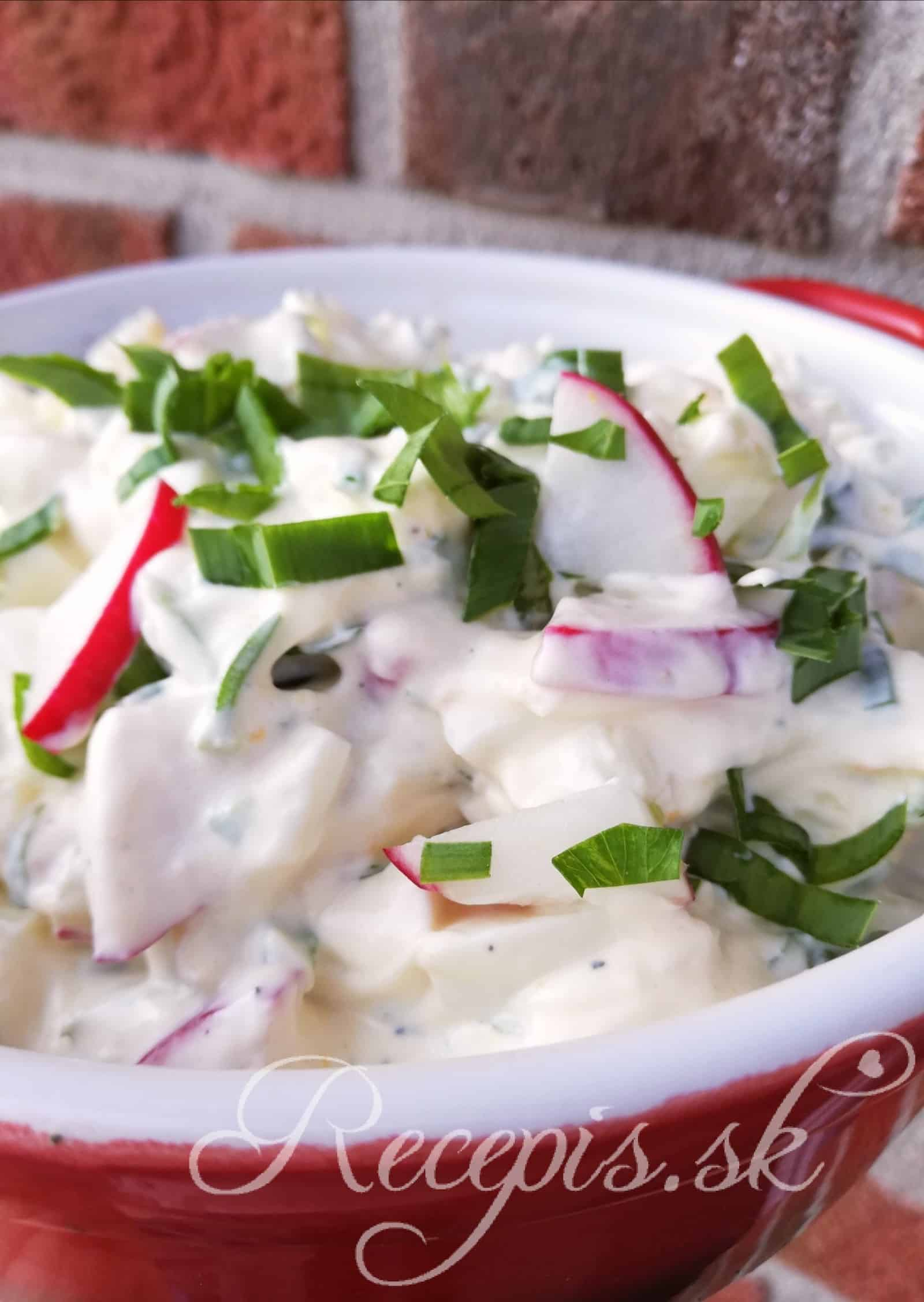 Vajíčkový šalát s gréckym jogurtom