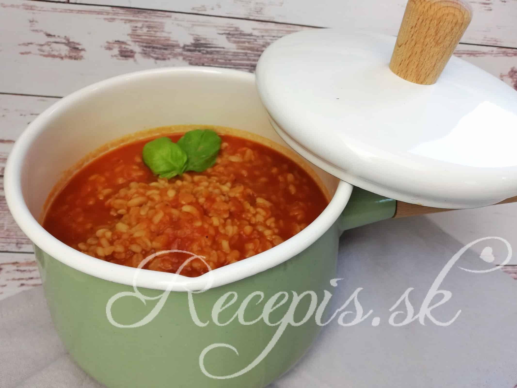Bulgurová polievka
