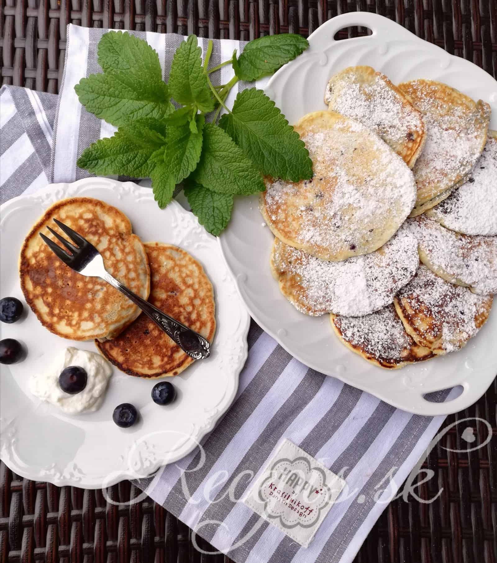 Super rýchle hrnčekové pancakes