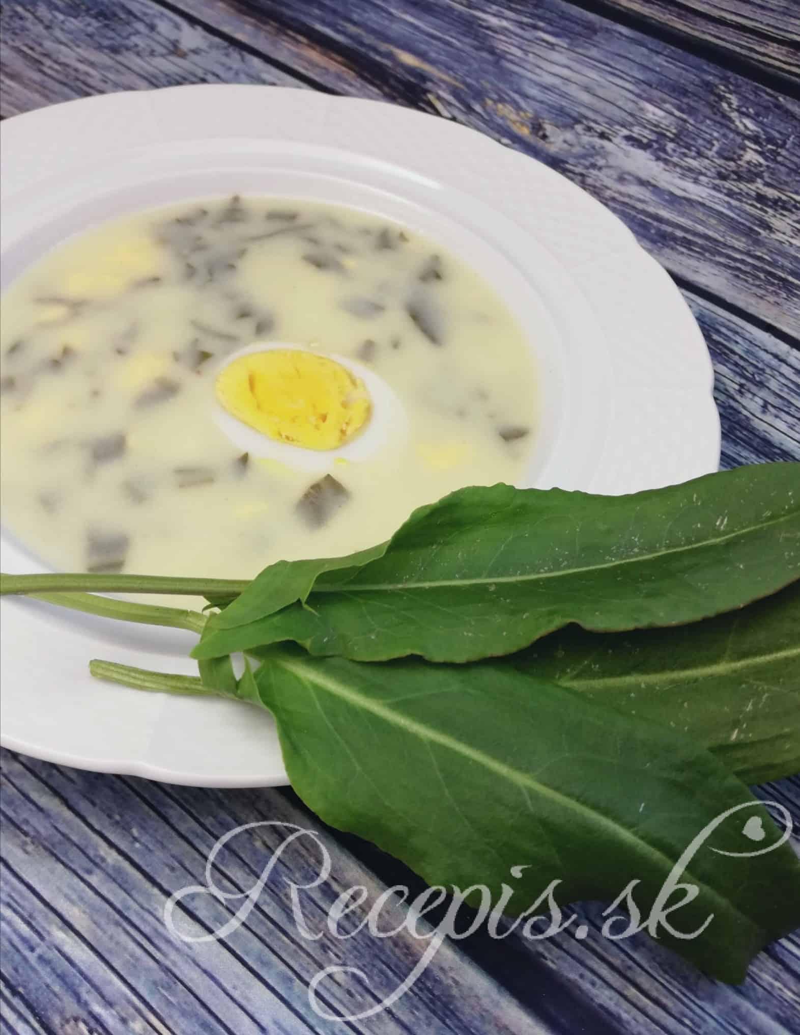 Šťavelová polievka