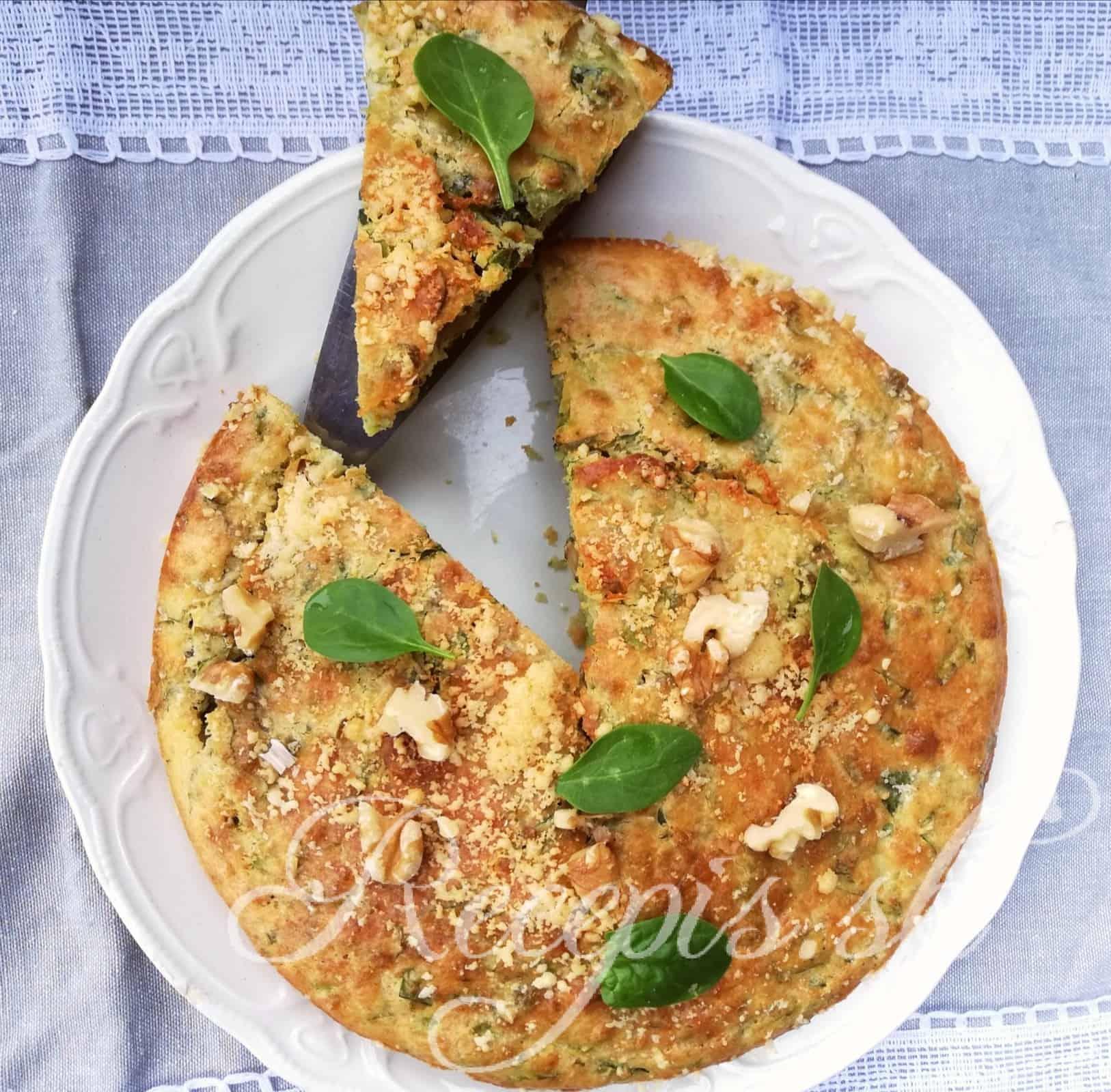 Špenátový pie