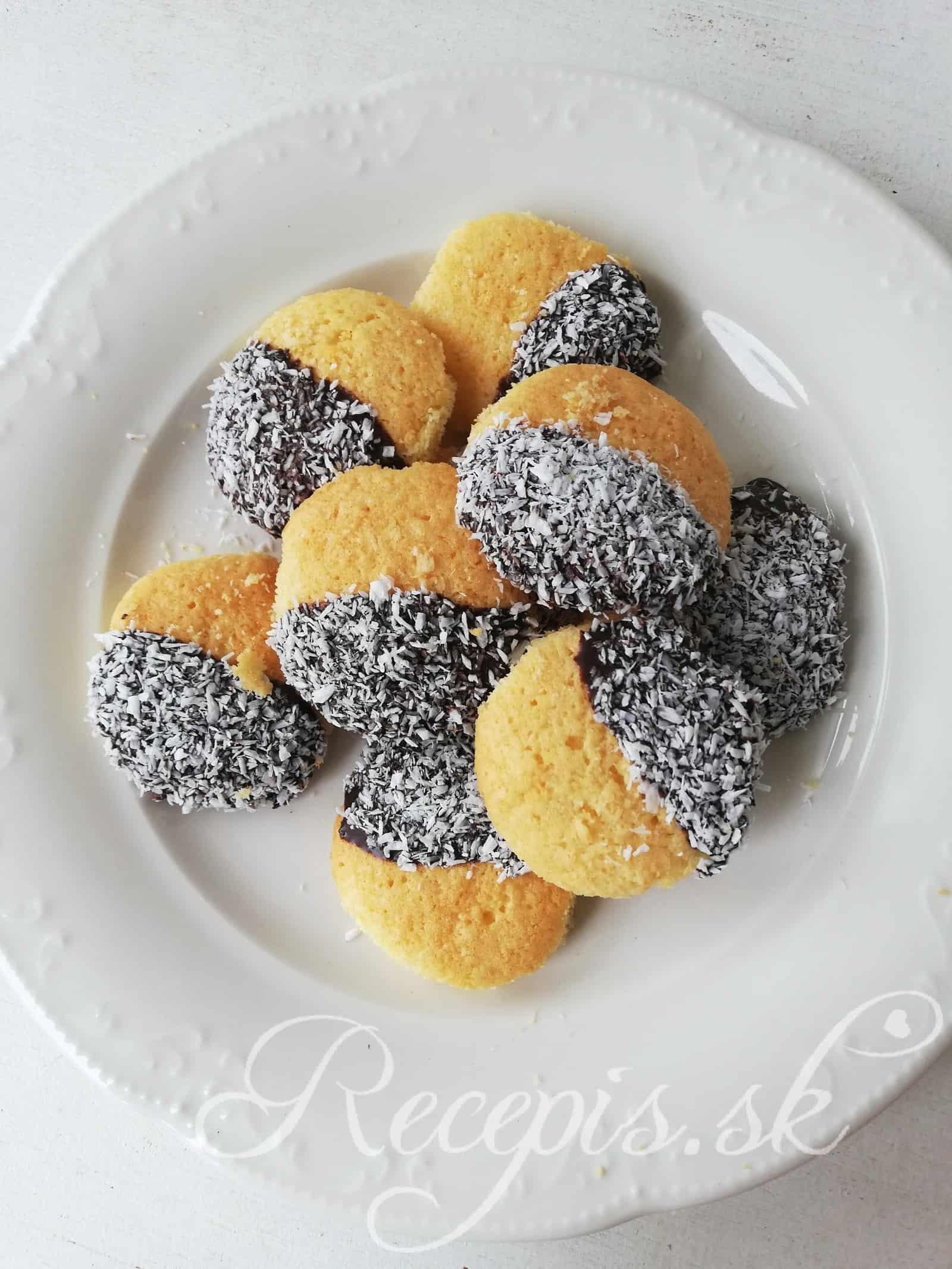 Kokosové sušienky bez váženia