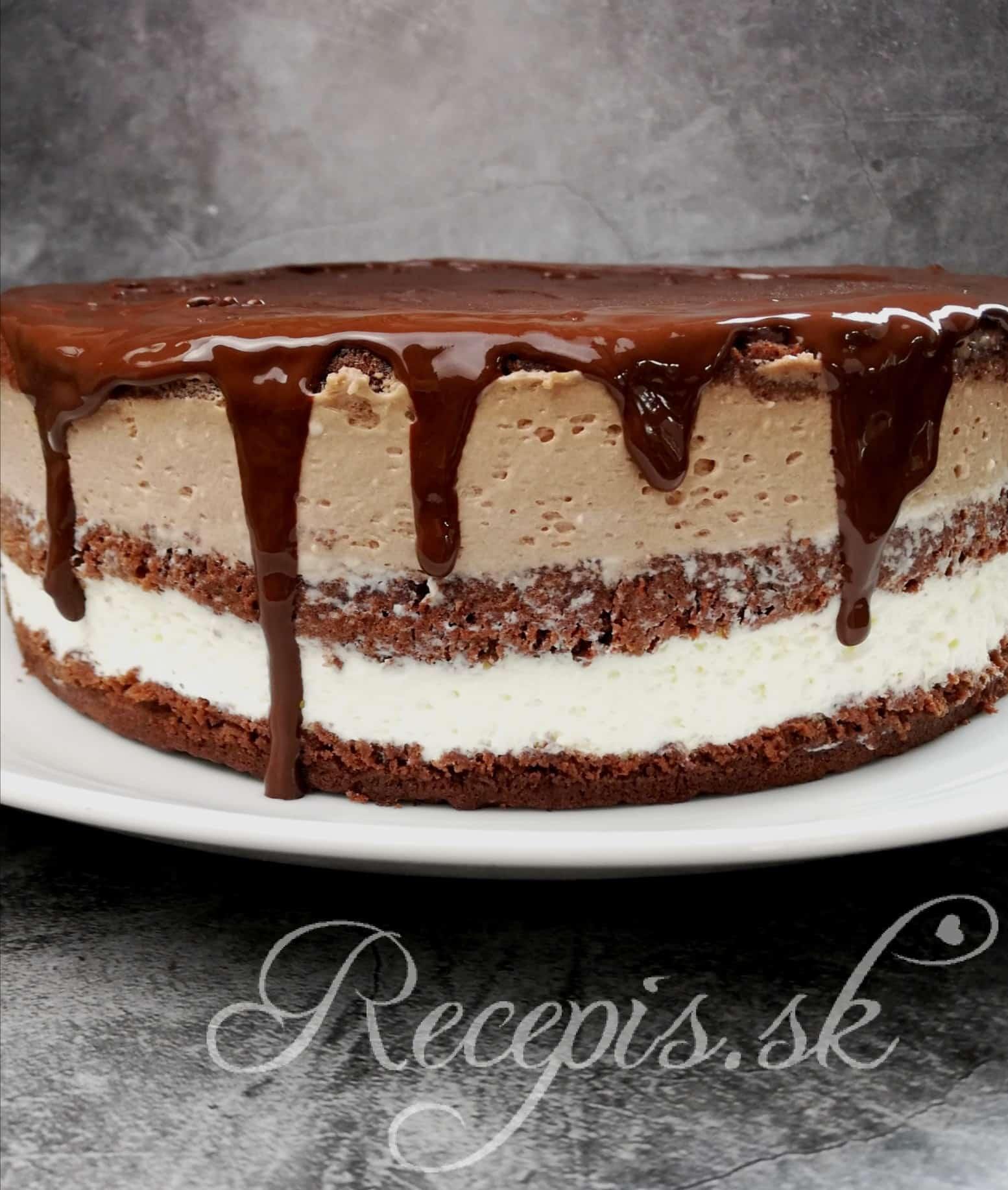 Studená mascarpone torta