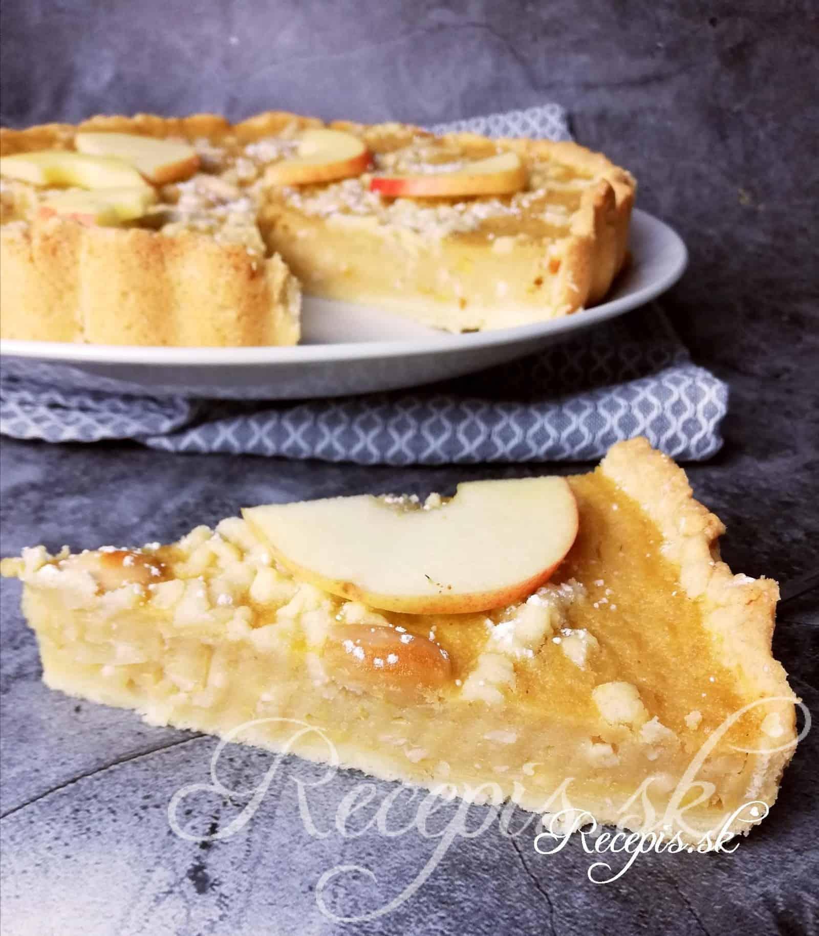 Šťavnatý Tarte z jablkovej výživy