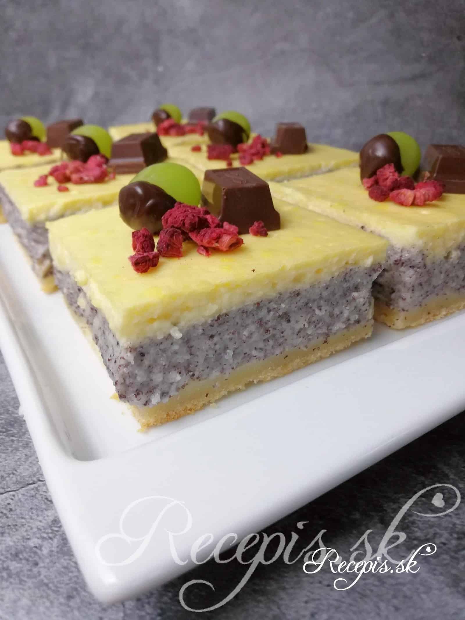 Makový koláč z Thüringen