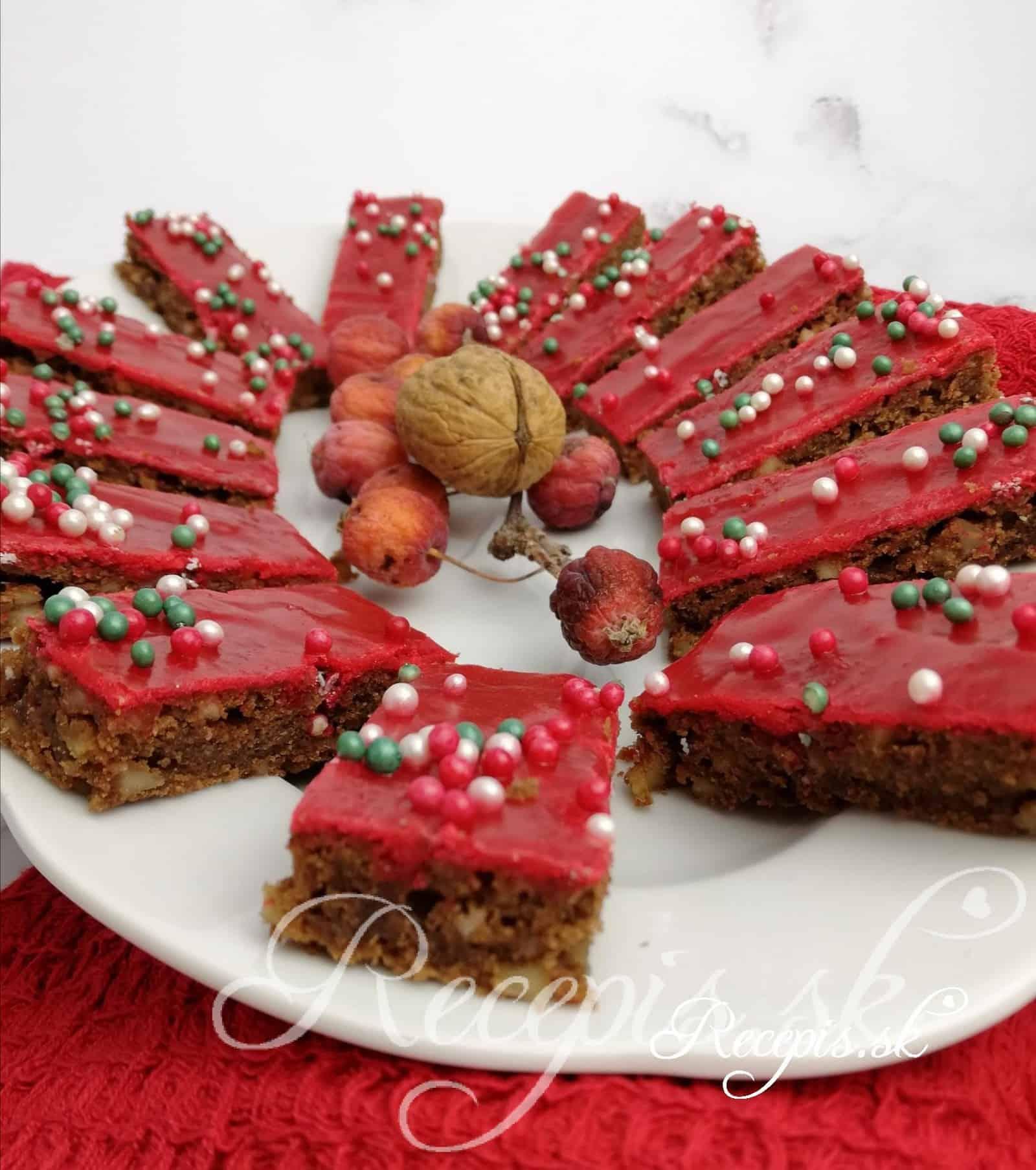 Vianočný čokoládový chlieb