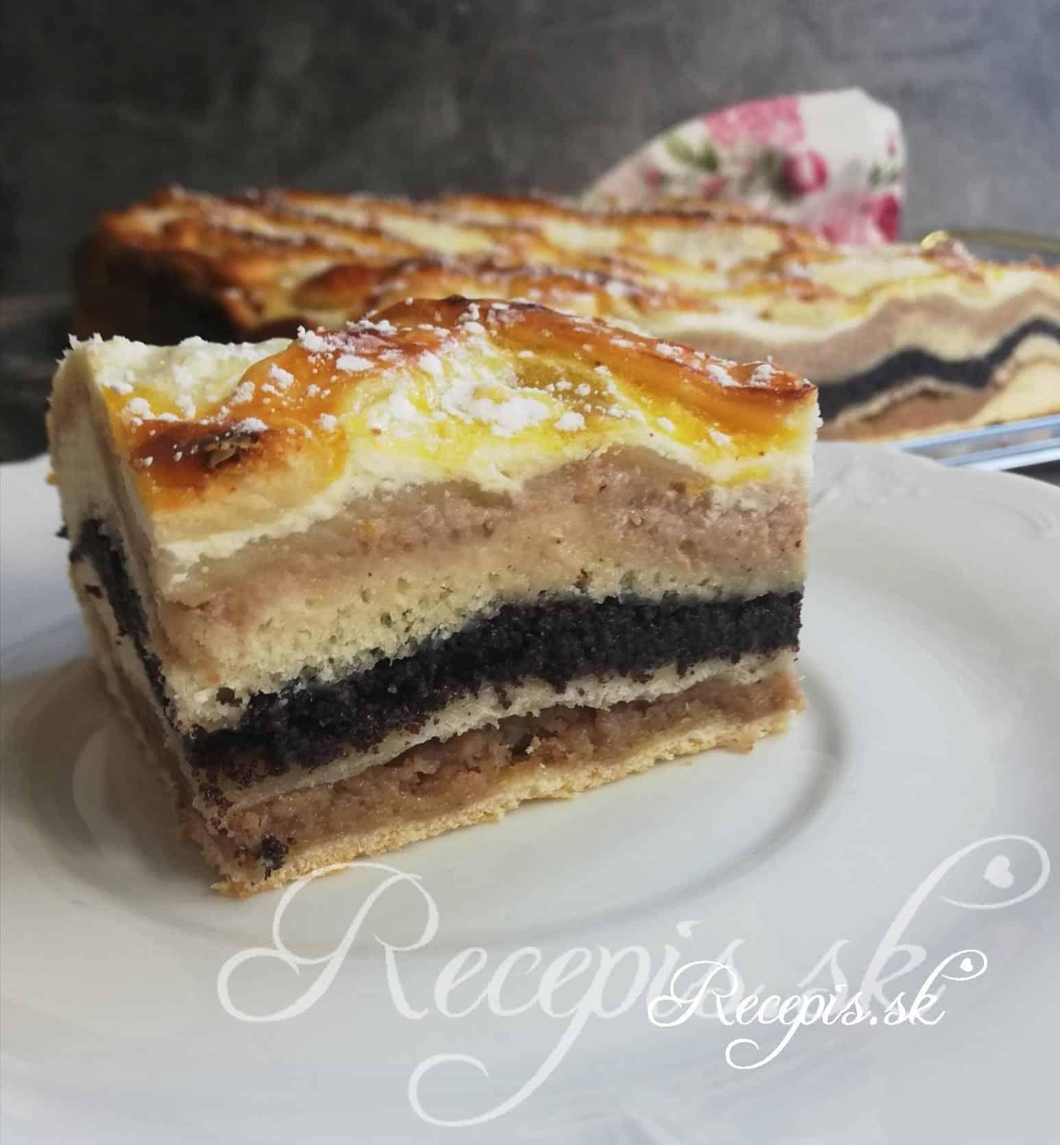 Tradičný sviatočný koláč- štedrák