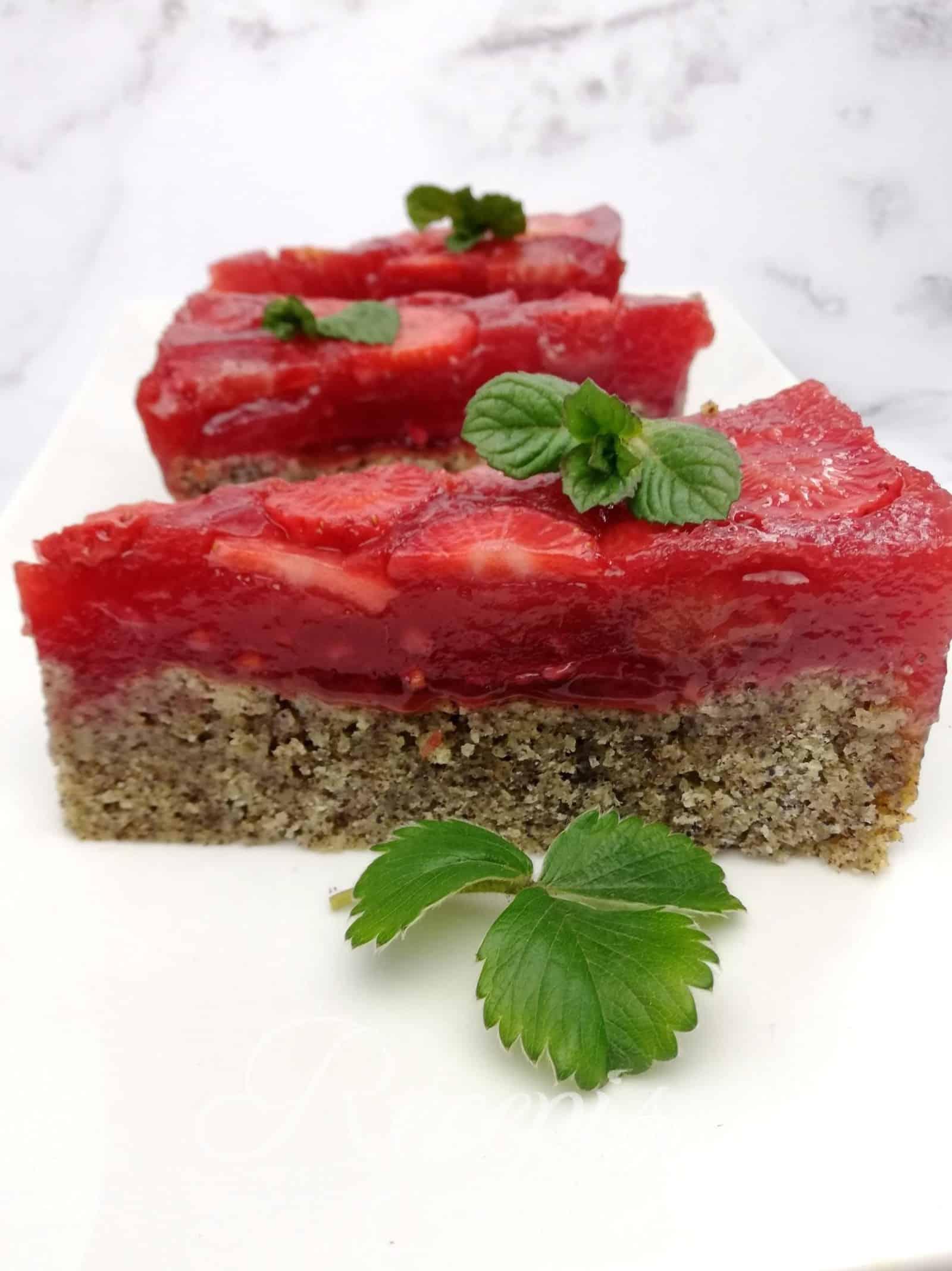 Maková torta – poppy seed cake