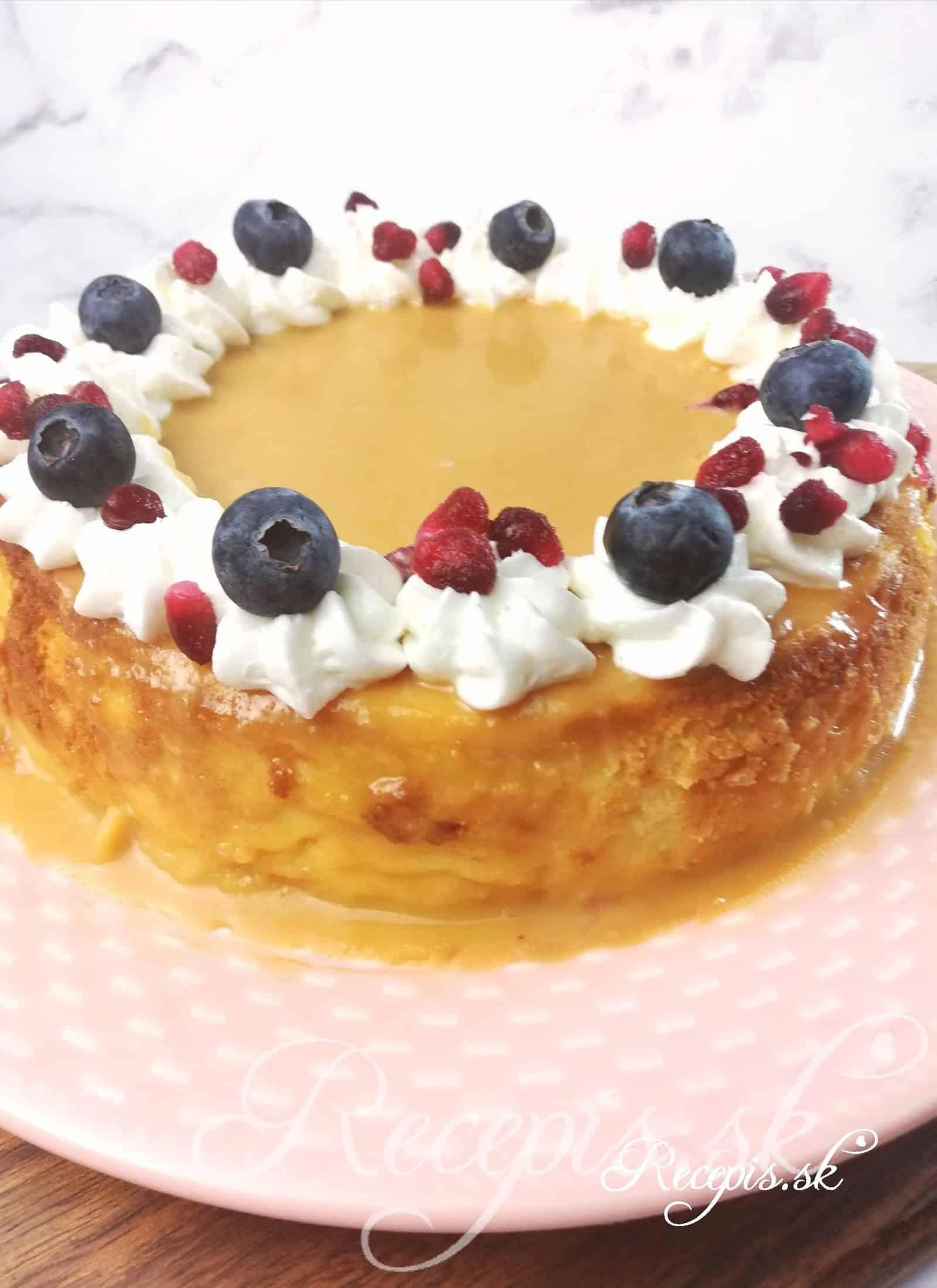 Jednoduchý cheesecake pre lenivé