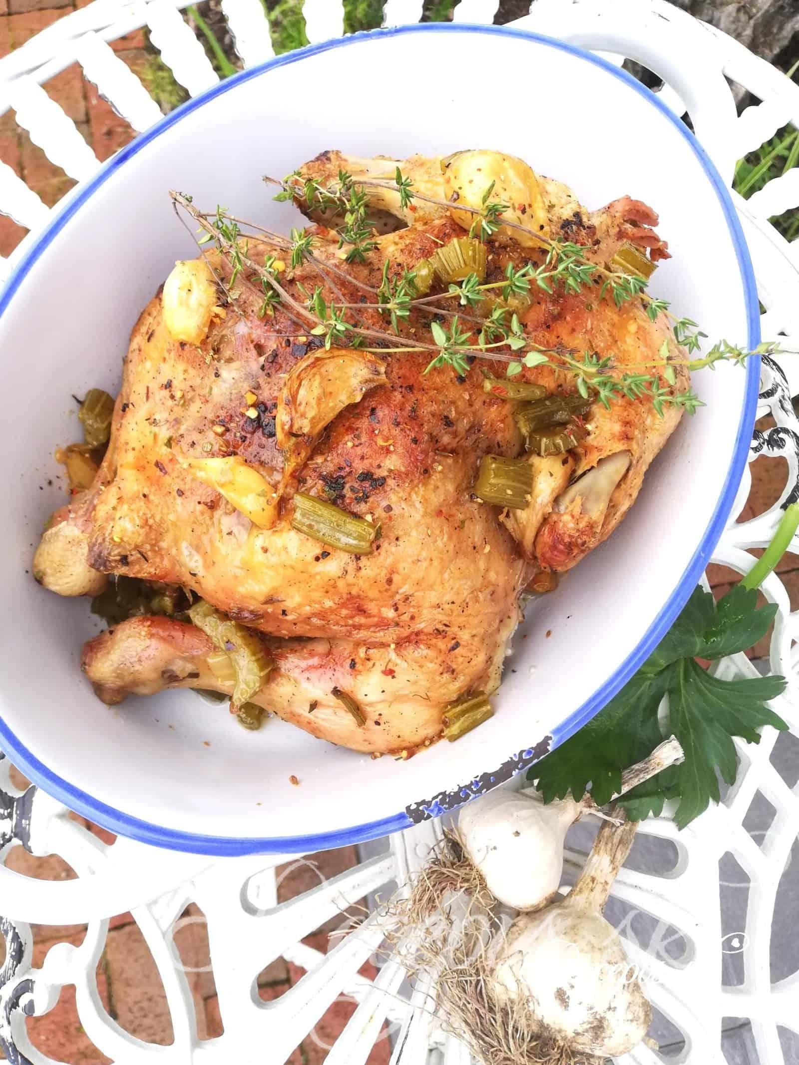 Francúzske kurča na cesnaku